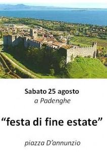 festa di fine estate a Padenghe