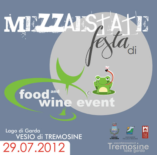 festa di mezza estate a Tremosine