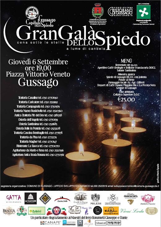 gran gala dello spiedo a Gussago
