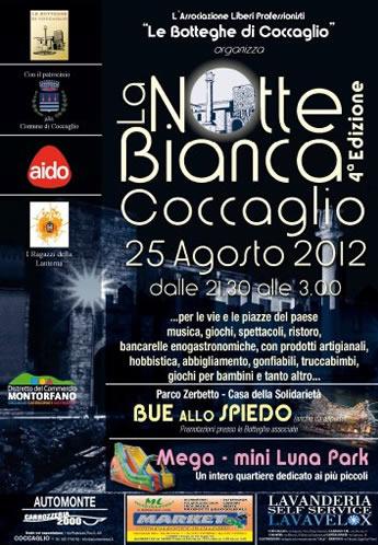 la notte bianca a Coccaglio