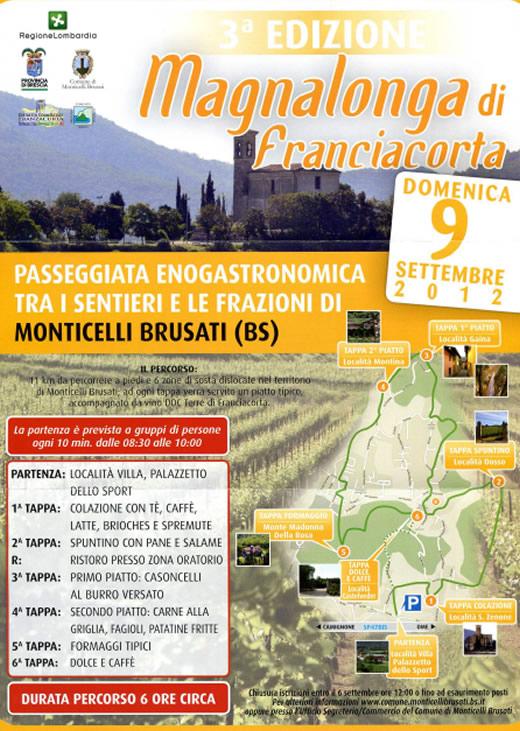 magnalonga di Franciacorta a Monticelli Brusati