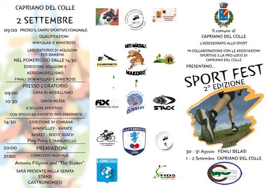 sport fest a Capriano del Colle e Fenili Belasi