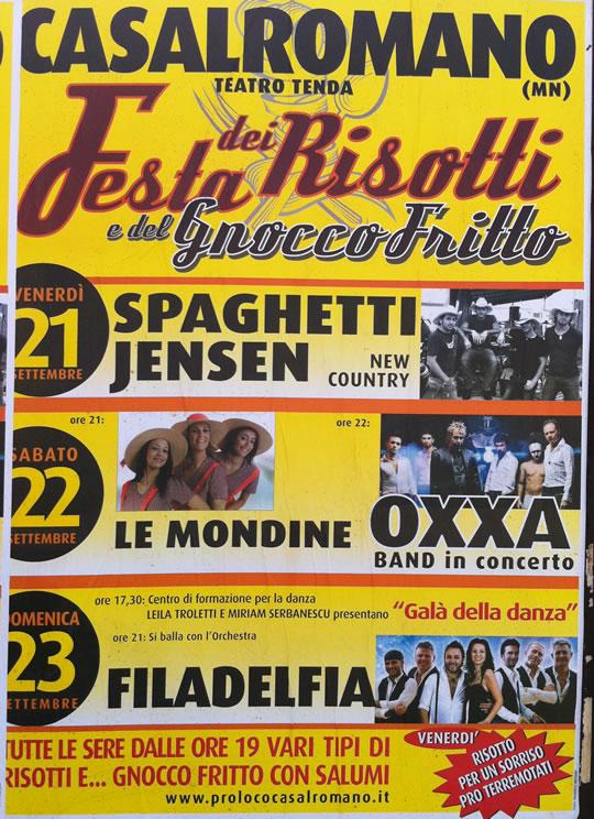 Festa dei risotti a CasalRomano
