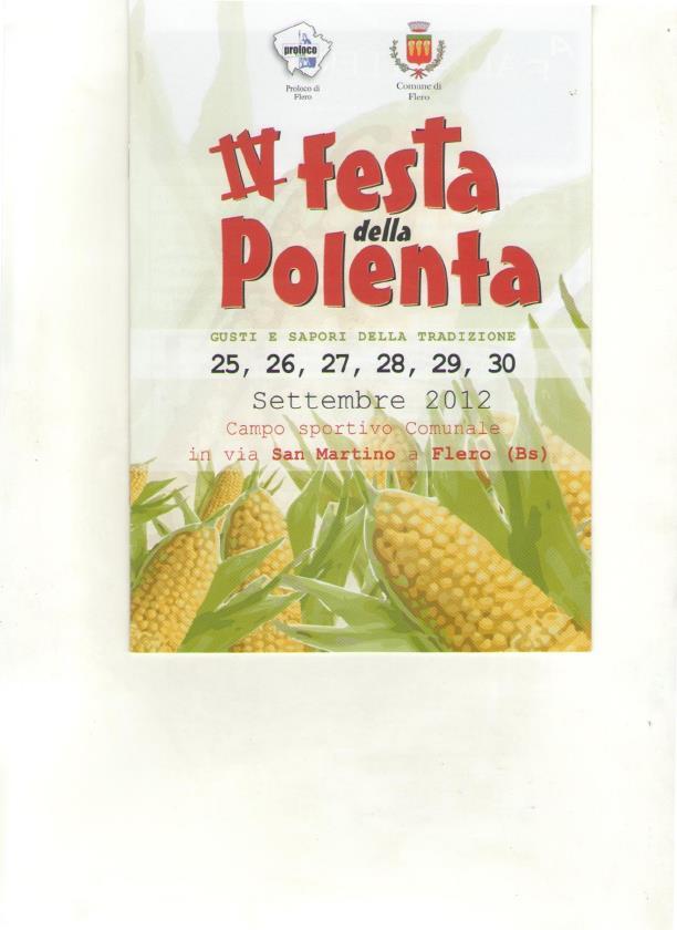 Festa della polenta a flero