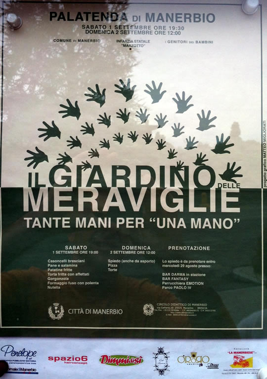 Il giardino delle meraviglie a Manerbio