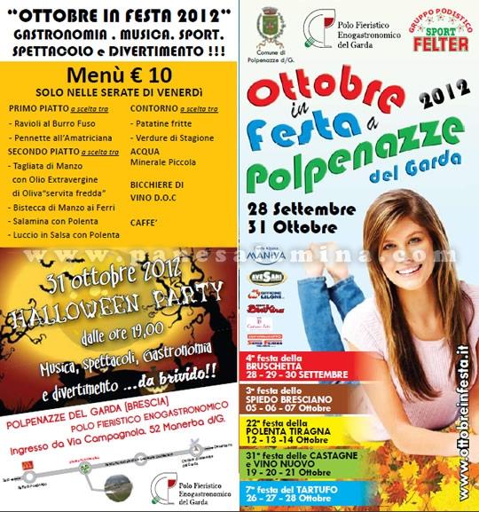 Ottobre in festa a Polpenazze del Garda 2012
