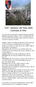 Palio delle contrade a Villa Carcina