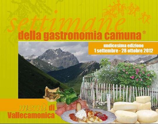 Settimane della gastronomia Camuna 2012