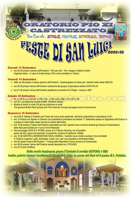 festa di San Luigi a Castrezzato