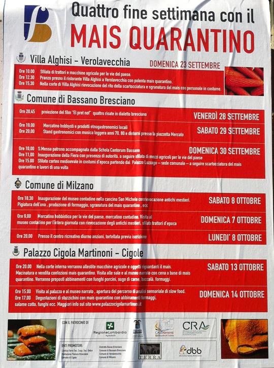 festa mais quarantino a Milzano