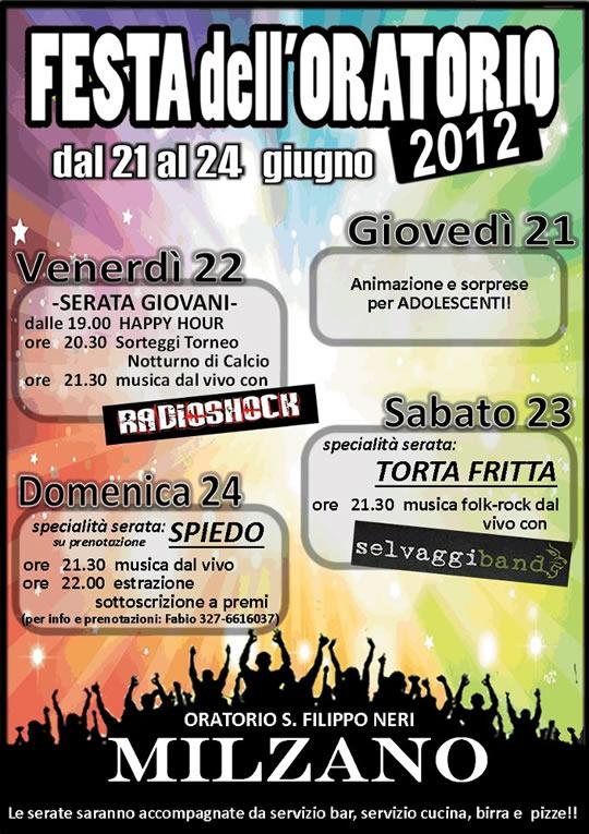 festa oratorio a Milzano