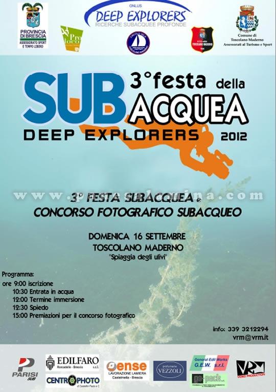festa subacquea a Toscolano Maderno