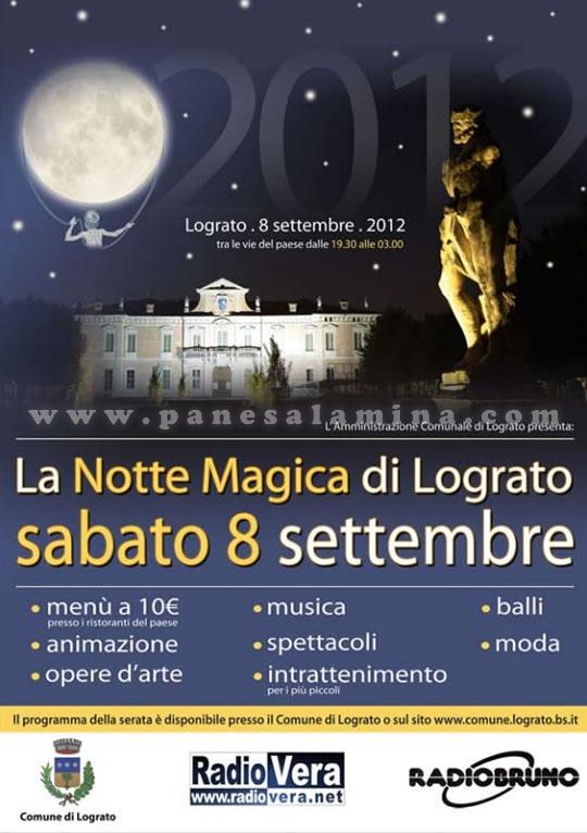 la notte magica di Lograto