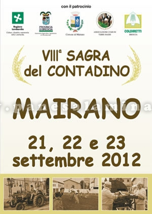 sagra del contadino 2012 a Mairano