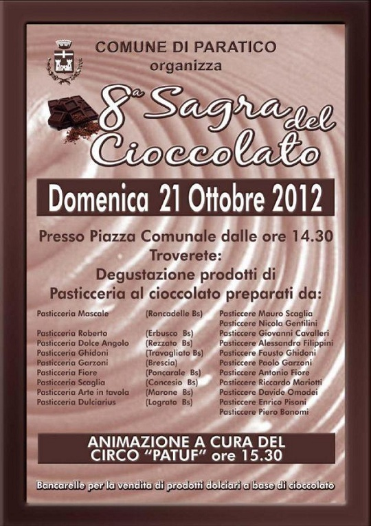 8°Sagra del cioccolato 2012 Paratico