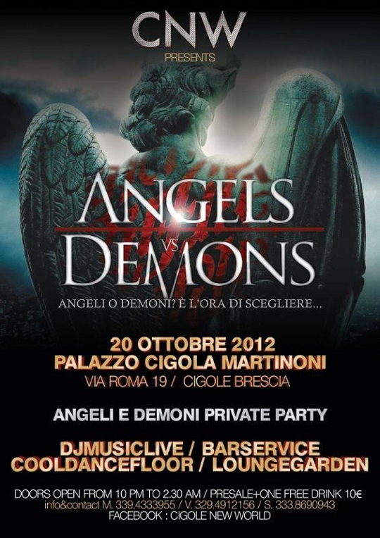 Angels vs Demons Cigole