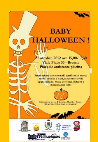 Baby Halloween a Brescia