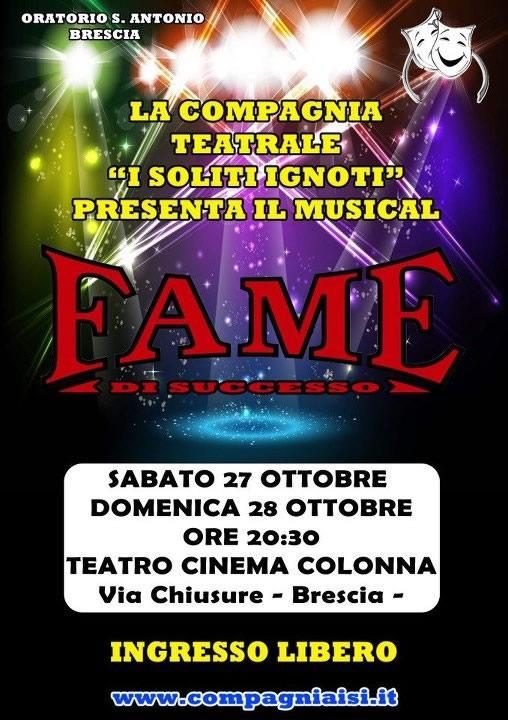 Fame - il musical a Brescia