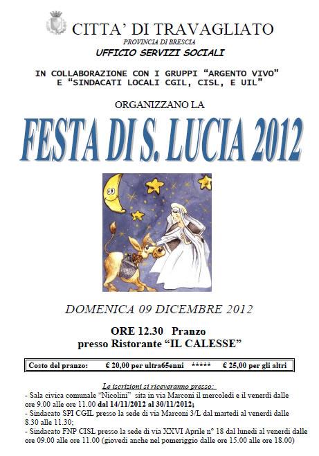Festa di Santa Lucia a Travagliato