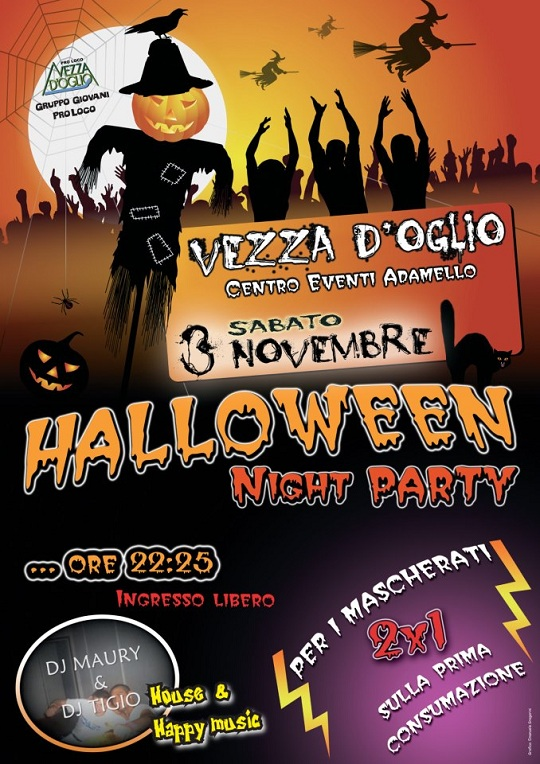 Halloween Night Party 2012 Vezza d'Oglio