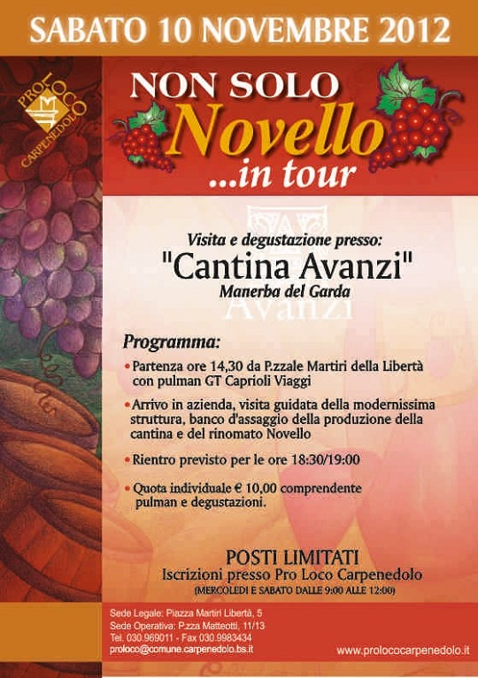 Non solo novello in tour 2012 Carpenedolo