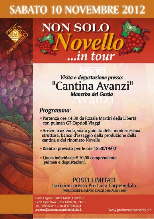 Non solo novello in tour 2012 Carpenedolo