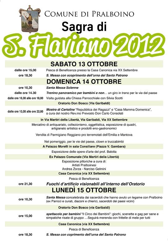 Sagra di San Flaviano 2012 Pralboino