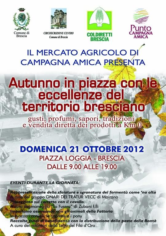 autunno in piazza con Campagna Amica