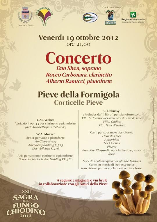 concerto a Corticelle di Dello
