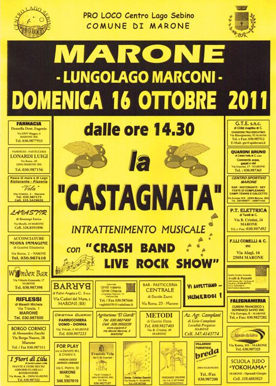 la castagnata a Marone 2011