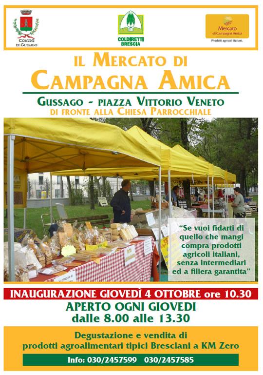 mercati di campagna amica a Gussago