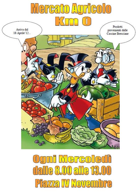 mercato agricolo a Bagnolo Mella