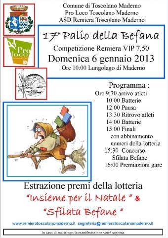 17 Palio della Befana a Toscolano Maderno