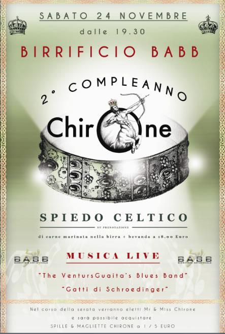 2 Compleanno di Chirone Manerbio