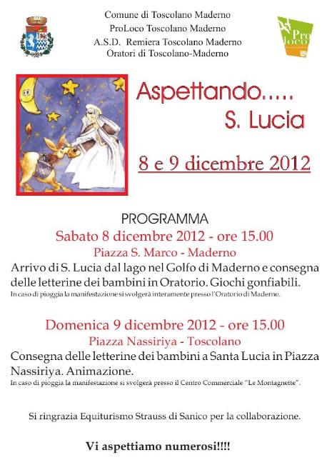Aspettando S.Lucia a Toscolano Maderno