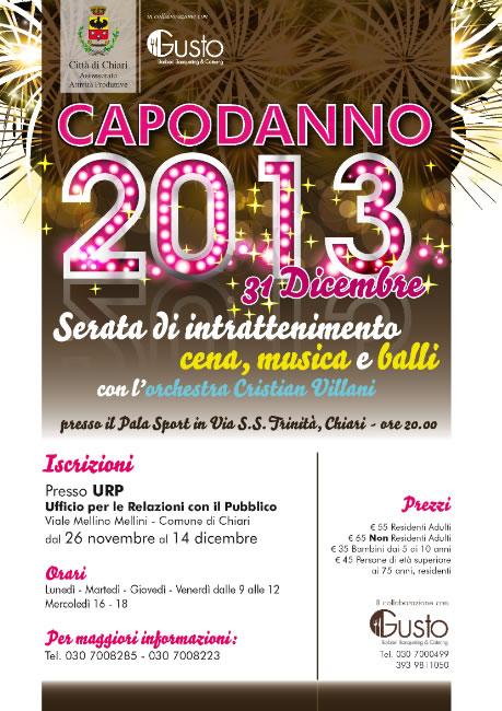Capodanno 2013 a Chiari