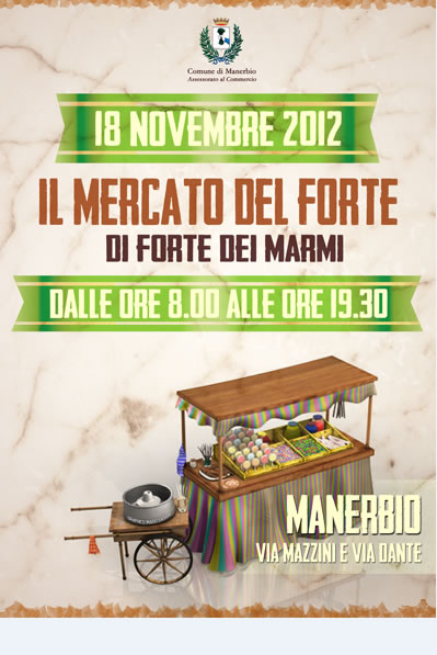 Il Mercato del Forte a Manerbio