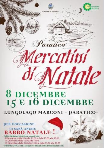 Mercatini di Natale a Paratico