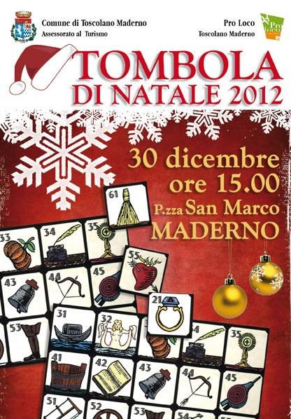 Tombolata di Natale 2012 a Toscolano Maderno