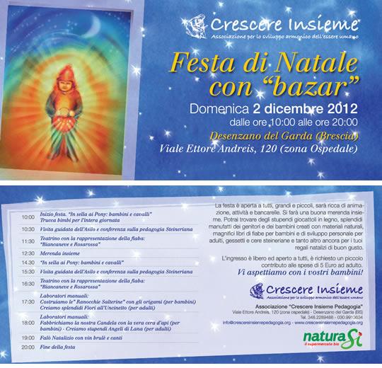 festa di Natale con bazar a Desenzano del Garda