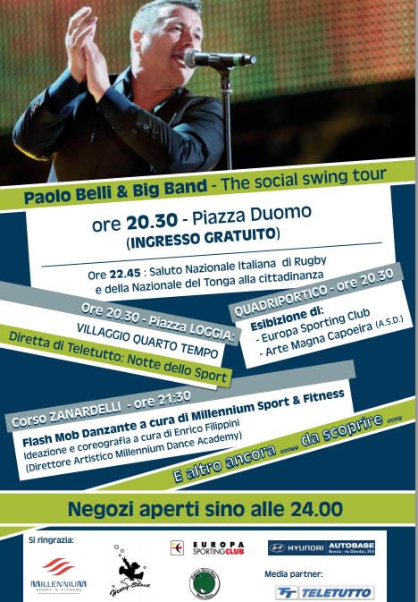 notte dello sport a Brescia