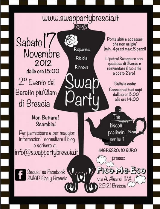 swap party a Brescia