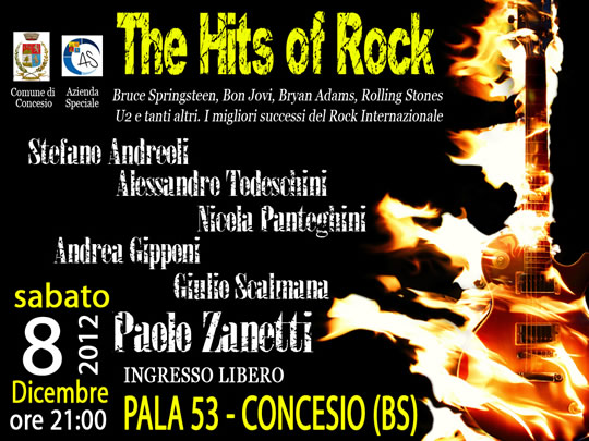 the hits of the rock a Concesio