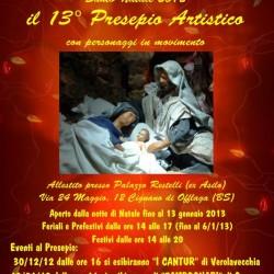 13° Presepio artistico a Cignano di Offlaga