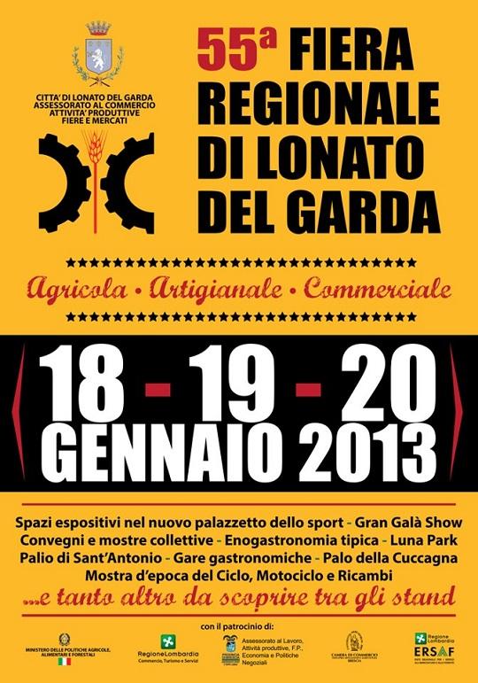 55 fiera regionale Lonato del Garda 2013 locandina