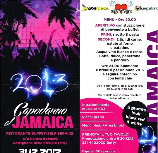 Capodanno al Jamaica
