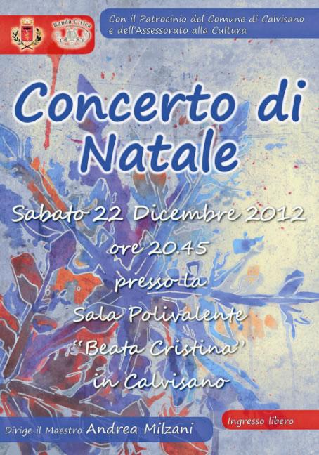 Concerto di Natale a Calvisano