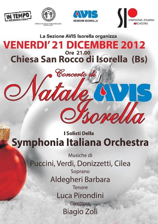 Concerto di Natale a Isorella