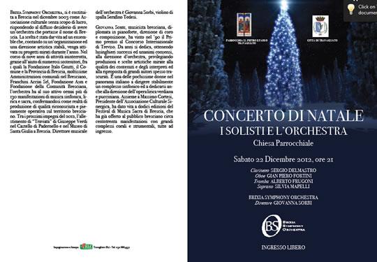 Concerto di Natale a Travagliato