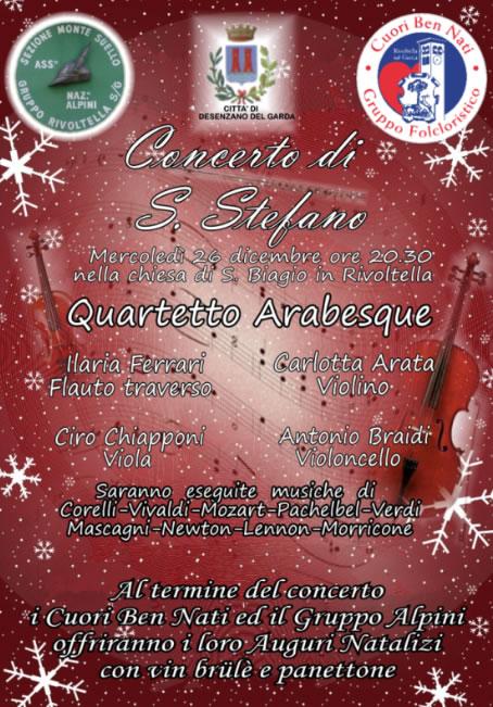 Concerto di Santo Stefano a Rivoltella